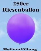 Heliumfüllung für 250er Riesenballon, 85-90 cm