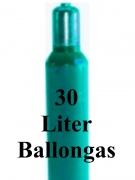 Helium Füllung 30 Liter Ballongas Flasche