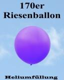 Heliumfüllung für 170er Riesenballon, 60 cm