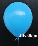 Heliumfüllung für 40x30 cm Rundluftballons