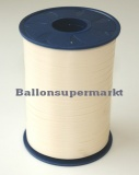 Ballonband 500 m Elfenbein