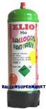 Helium-Einweg-Flasche mit 1 Liter Heliumgas