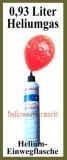 Helium-Bombolo-Einweg-Flasche mit 0,93 Liter Heliumgas